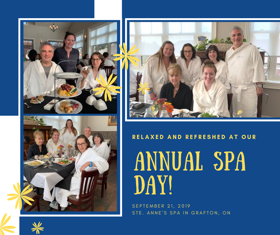 Port Hope Dental - Spa Day 2019